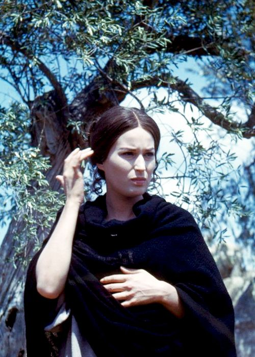 "Silvana Mangano photographed by Peter Basch on the set of ""Barabbas"", 1961"