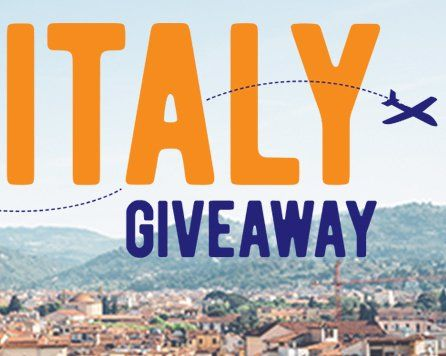 2 Grand Prize winners will each receive a $6,400.00 trip package for two, winner and one guest, to Italy. One entry per person.    Round-trip, coach-class airfare for two, winner and one guest, to Florence, Italy from winner's nearest major...