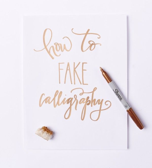 25 Best Ideas About Fake Calligraphy On Pinterest