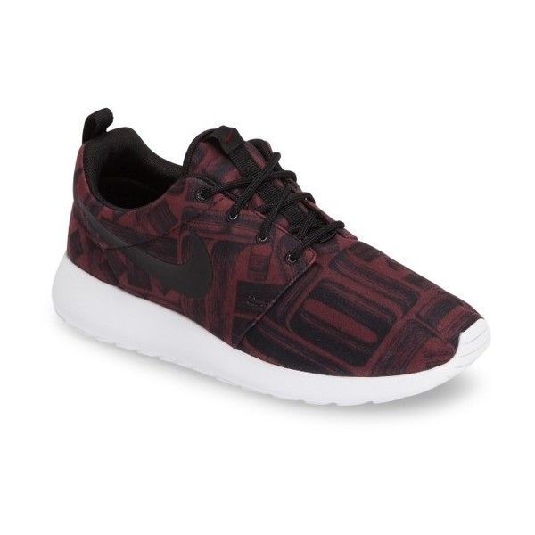 Women's Nike Roshe One Sneaker ($85) ❤ liked on Polyvore featuring shoes, sneakers, nike trainers, geometric shoes, nike shoes, nike and nike footwear