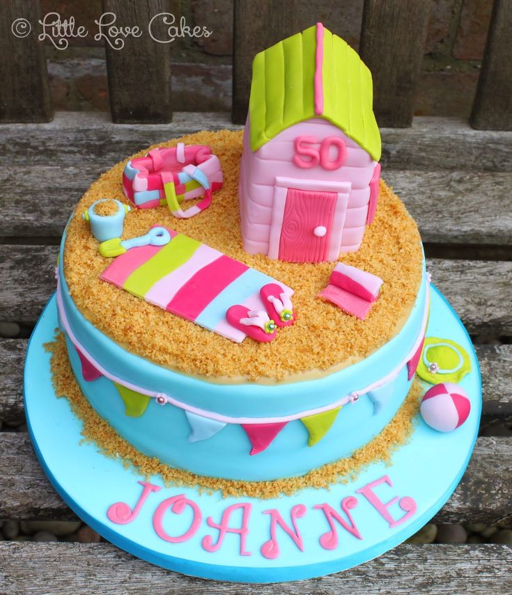 32 Over The Top First Birthday Cakes: Best 25+ Beach Themed Cakes Ideas On Pinterest