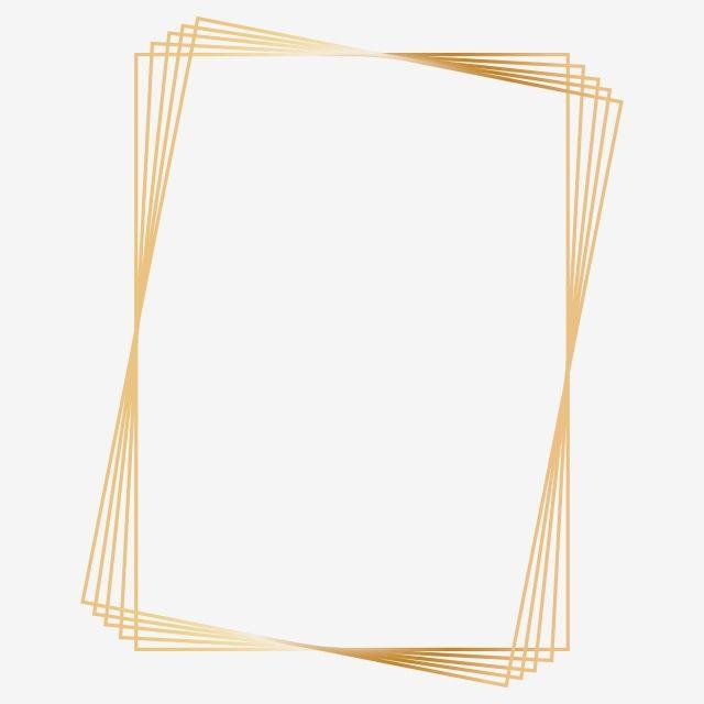 إطار مستطيل الذهب Clipart بابوا نيو غينيا العنصر مستطيل الإطار إطار ذهبي Png والمتجهات للتحميل مجانا Gold Clipart Frame Clipart Frame Template