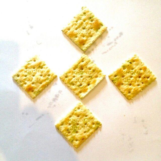 Crispy veggie cracker #Richoz