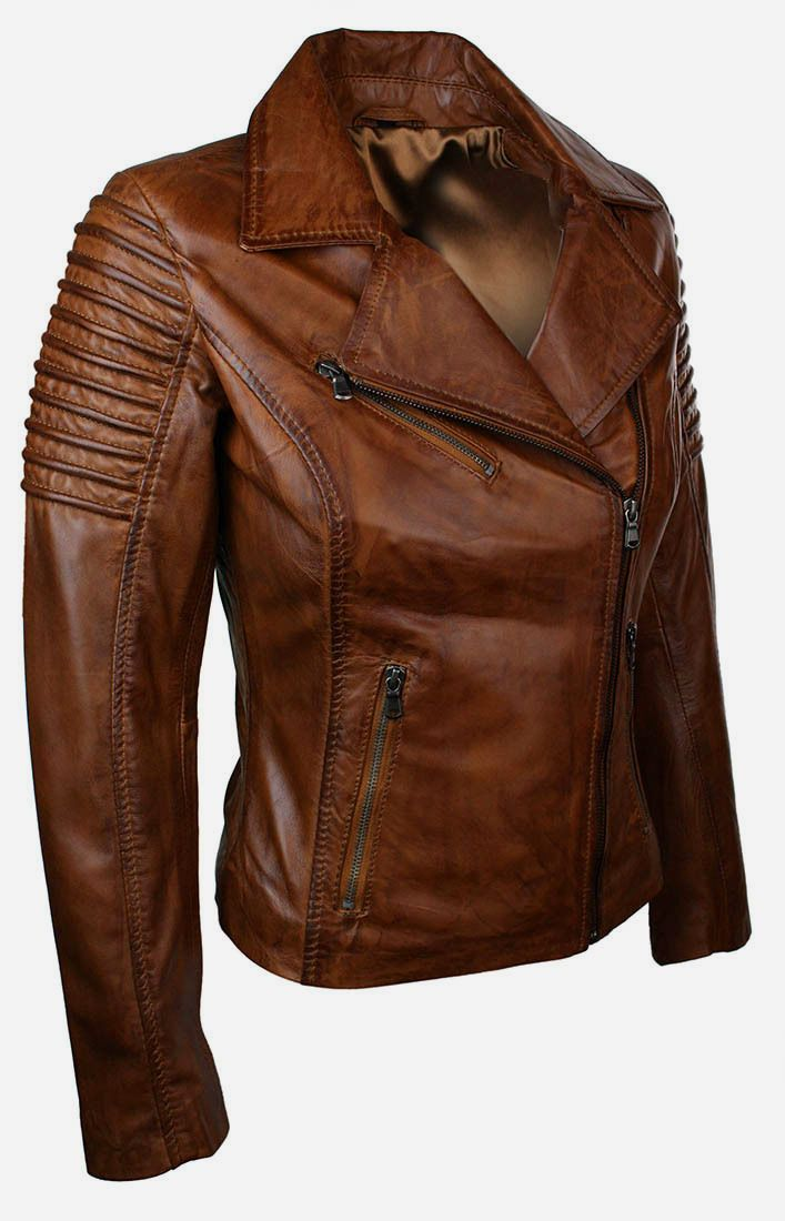 http://www.jacketsjunction.com/product/ladies-short-fitted-bikers-style-tan-brown-leather-jacket/