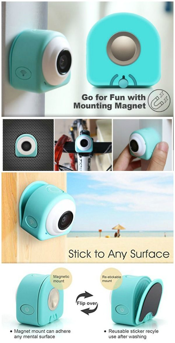 The Sumsonic COCA Mini action camera is a fun, easy to use camera that can capture some interesting angles thanks to its unique mounting solutions.