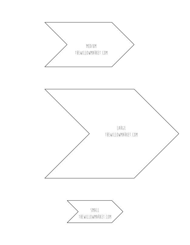 Best  Arrow Template Free Printable Ideas On   Images