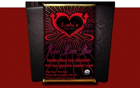 I love this raw chocolate bar! So good and not too sweet or bitter.