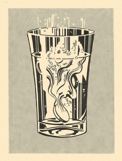 Alka-Seltzer by Roy Lichtenstein