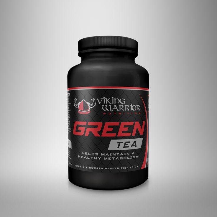 Green Tea 120 Tablets - Viking Warrior Nutrition