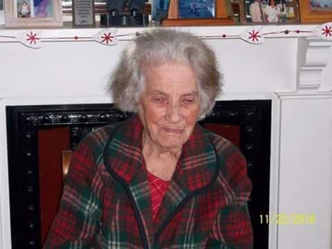 Aunt Millie is 96. This afternoon she was raped and murdered by blacks in her home in Uitenhage, Eastern Cape.