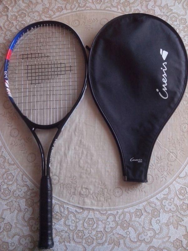 Location d'une raquette neuve jamais utiliser,de la marque décathlon Inésis avec housse de protection. Location Raquette de Tennis neuve INESIS Villeneuve-d'Ascq (59491)