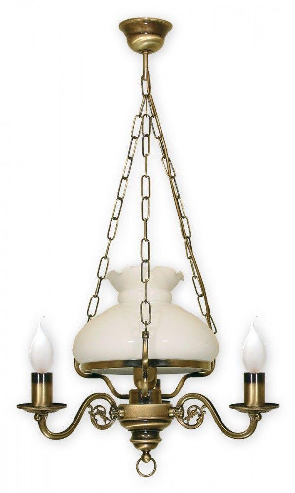 Lampa Sufitowa Alladyn Patyna Klasyczna Lemir 013w4 żyrandole