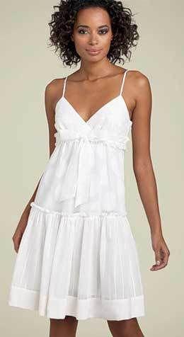 Modelo de vestido de verano Patrón