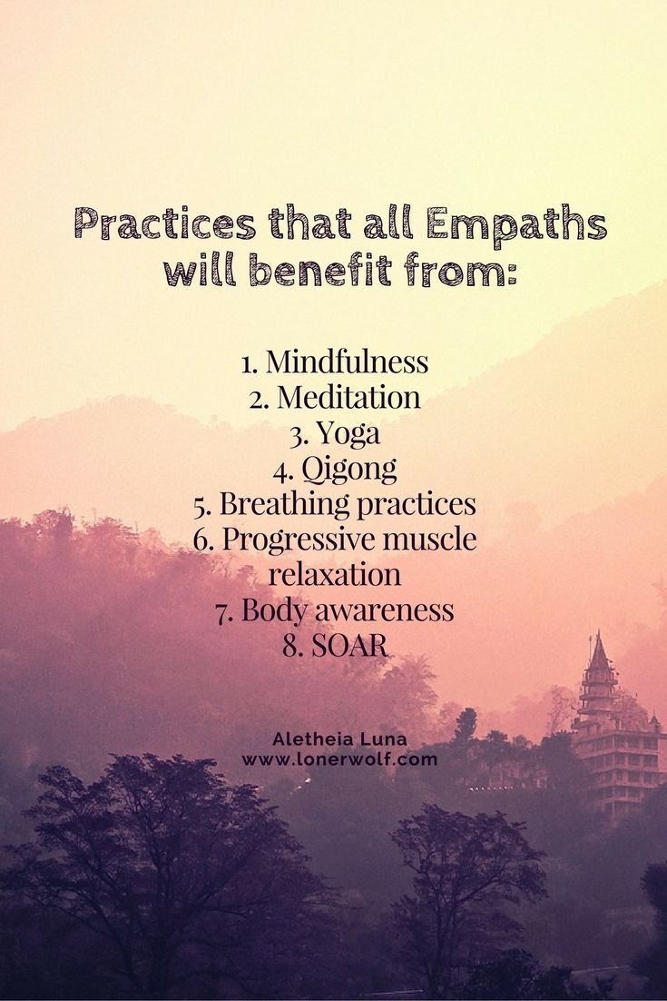 Every Empath 100% needs to learn how to ground themselves firmly in the present moment. Click to read more ...
