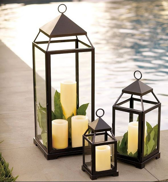 843 best candles light of love images on pinterest table centers malta lantern traditional outdoor lighting by pottery barn workwithnaturefo