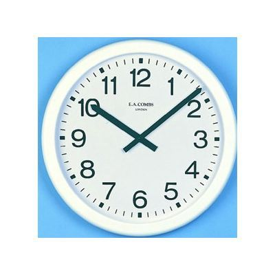 Radio Controlled Plastic Clock 19.5