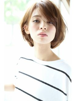 アンアミ オモテサンドウ(Un ami omotesando)【Un ami】大人かわいい・小顔耳かけボブ 松井 幸裕
