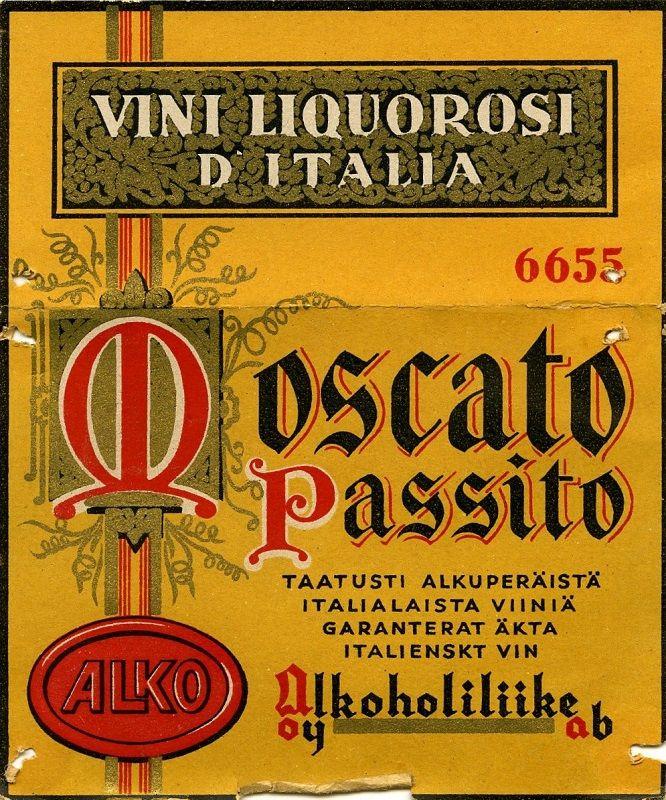 Oy Alkoholiliike Ab #alko #alkoholi #moscato #italia #viini #wine