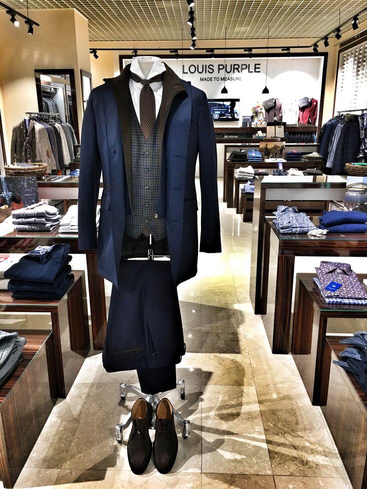 Louis Purple men's fashion inspiration