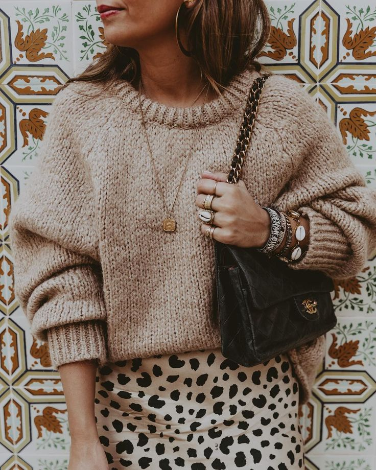 outfit #ootd #chanel #chanelbag #golden #leoprint