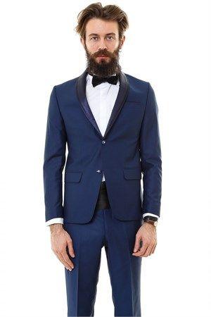 WSS Wessi Zeka Model Şal Yaka Damatlık Takım Elbise