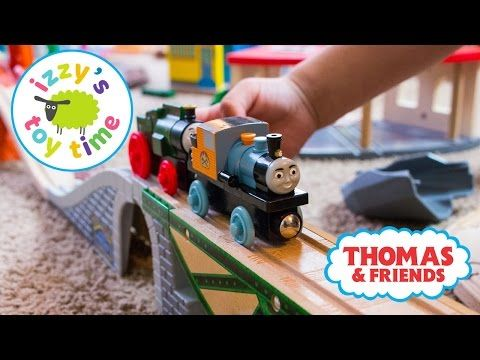 Thomas and Friends Play Table   Thomas Train Track with Bubs   Trackmaster Brio Toy Trains for Kids - YouTube
