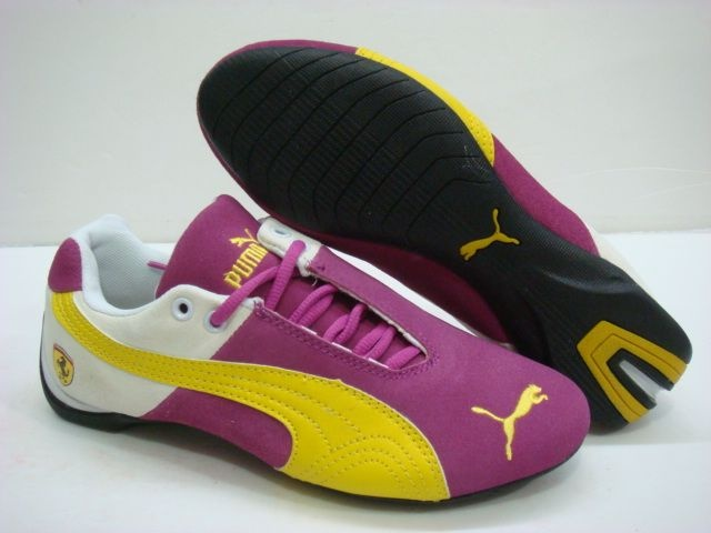 love, Love, LOVE the pink and yellow together! I just ♥ Puma. Period.