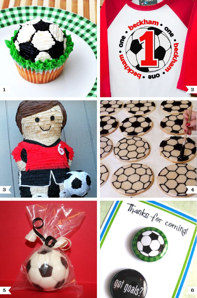 Soccer birthday party ideas | Chickabug... I love this more than anything in the world, just look at what I'm wearing in my pic