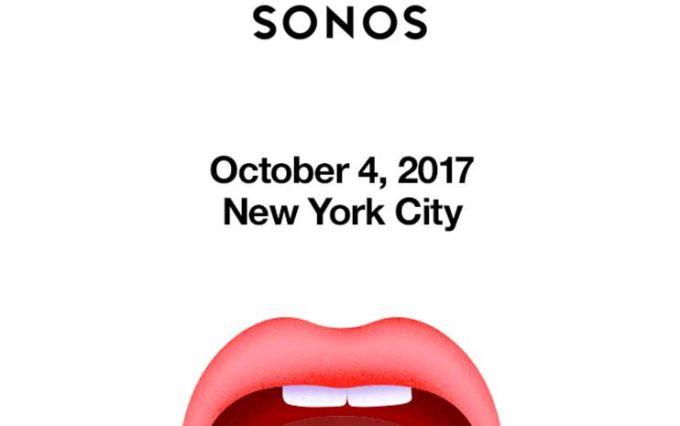Sonos sends out invites for smart speaker reveal on October 4