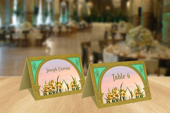 Wedding Accessories  Wedding Table Decor  by GawkStationery