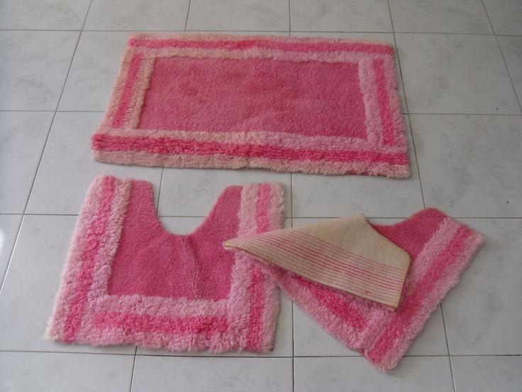 tappeti per bagno rosa tappeti da bagno rosa arredo bagno vintage tappeto antiscivolo tappeti vintage tappeto rosa
