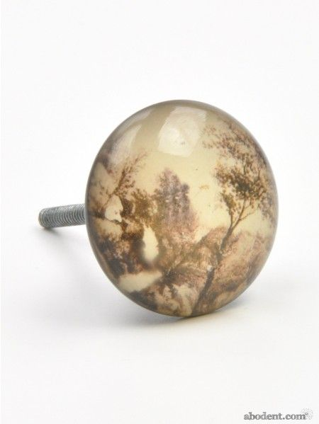Kitchen Cabinet Wooded Pull Knobs
