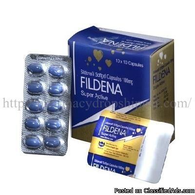 Fildena Super Active 100mg (Sildenafil Softgel Capsule) - Classified Ad