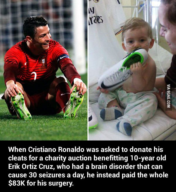 Good Guy Cristiano Ronaldo