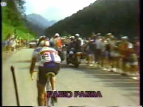Tour de Francia 1985 Etapa12 Fabio Parra y Lucho Herrera