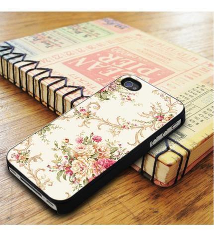 Floral Original White Design iPhone 5|iPhone 5S Case