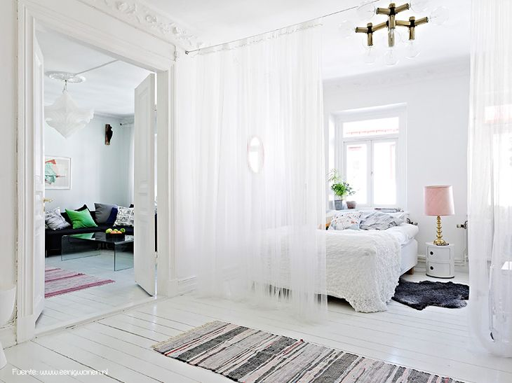 1000  images about separando ambientes con cortinas y estores on ...