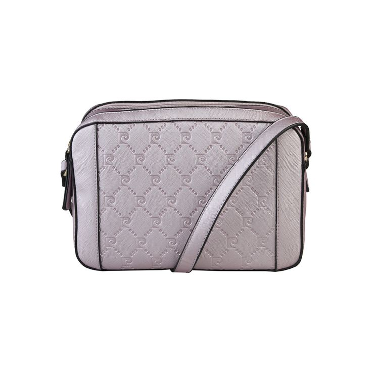 Pierre Cardin – MH74_516311  Shoulder bag of synthetic leather has zip fastening, 2 compartments, 1 internal zipped pocket and 2 internal pockets. It is of size 25*17*9 cm.  https://fashiondose24.com