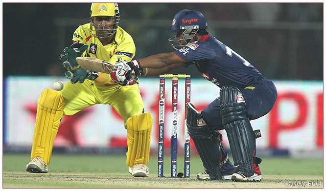 The most reliable player behind the wickets! #PepsiIPLVIPBoxRace Enter code - Dhoni