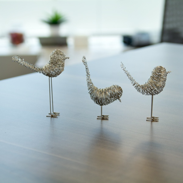 90 best Wire Birds images on Pinterest | Wire sculptures, Wire and ...