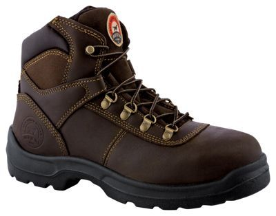 "Irish Setter Two Harbors Steel Toe Work Boots for Men - Brown - 8.5 M: """"""A durable steel toe work boot… #Fishing #Boating #Hunting #Camping"