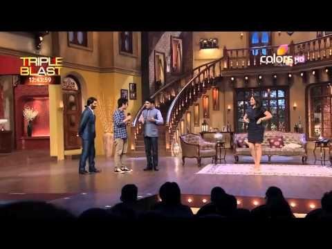 Sonakshi Sinha dances with a fan | Kapil Sharma Video Website