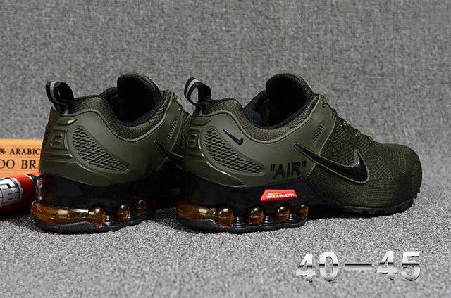 nike green shoes mens
