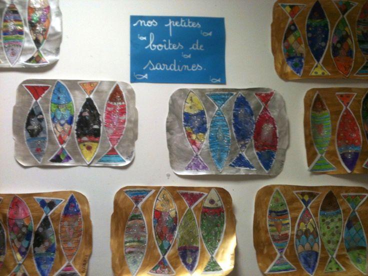 Les boîtes de sardines ! - La maternelle de Teet et Marlou