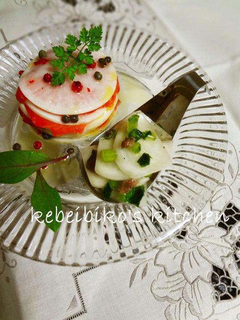 蕪のマリネ★アンチョビ&サーモン by kebeibiko [クックパッド] 簡単おいしいみんなのレシピが226万品