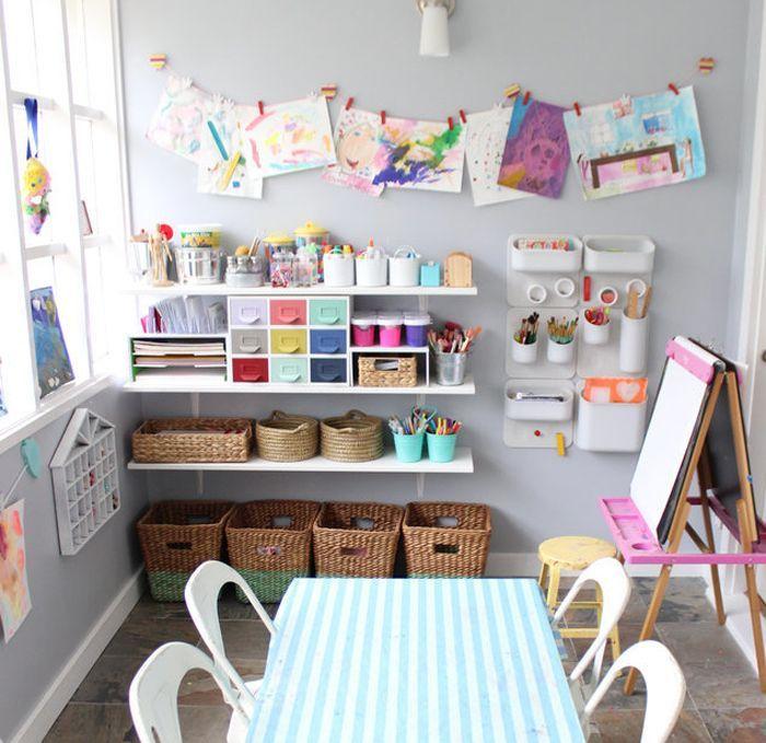 Shop By Room Craft Room Amazon Com Kids Craft Storage Playroom Design Kids Playroom