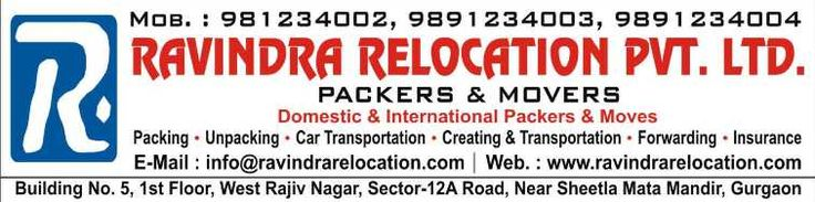 Professional Movers and Packers Gurgaon based companies help people not only on residential or local household shifting but also on commercial shifting, industrial goods shifting and international relocation. So, hire a good moving company in Gurgaon and turn the situation into easygoing & smooth affair; and enjoy your new place sooner.