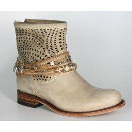 12431 Sendra Boots Chiquita Floter Beige