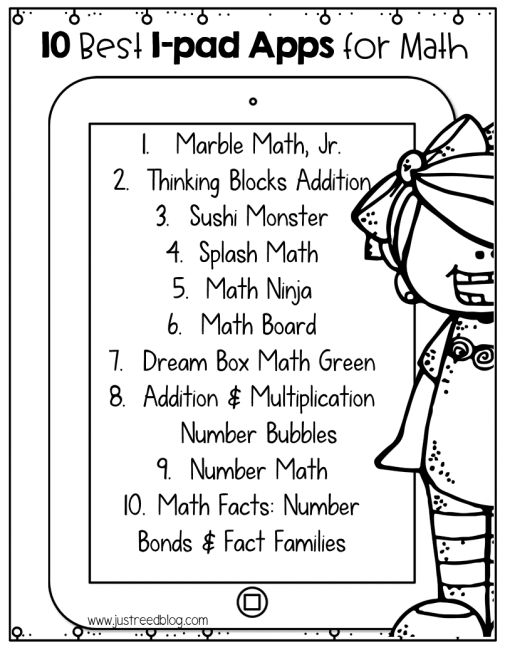As I get ready to send my students off for summer break, I've searched high and low for the top ten math apps to help them retain what they've learned this year. Many of my students have tablets, and