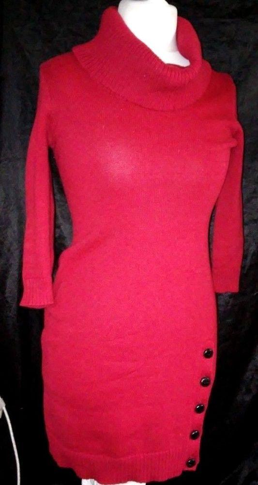 #tumbrl#instagram#avito#ebay#yandex#facebook #whatsapp#google#fashion#icq#skype#dailymail#avito.ru#nytimes #i_love_ny     Ralph Lauren Polo Knit Dress Womens Size XS Red  Long Sleeves #RalphLauren #ShirtDress #Casual